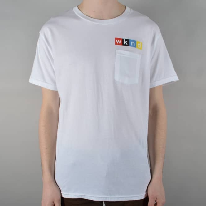 WKND Skateboards NPW Pocket T-Shirt - White