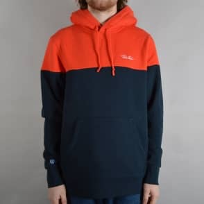 Primitive Skateboarding Nuevo Blocked Pullover Hoodie - Midnight/Orange