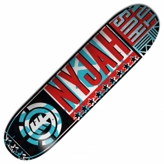 Element Skateboards Nyjah Bill Featherlight Skateboard Deck 8.0''