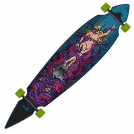 Octo Diver Pintail Longboard Skateboard - 9.35