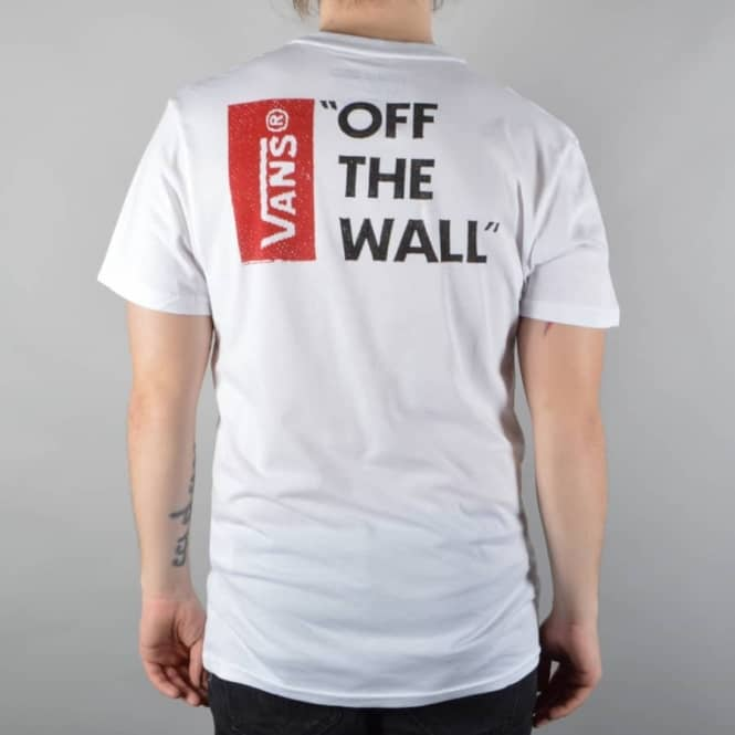 6fca3a6d72bc Vans Off The Wall 3 T-Shirt - White - SKATE CLOTHING from Native ...
