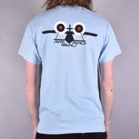 OG Airplane Skate T-Shirt - Light Blue