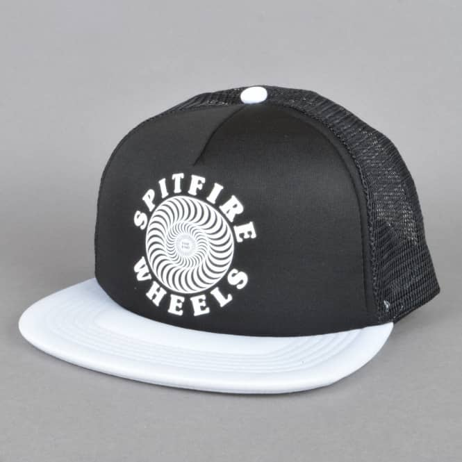 Spitfire Wheels OG Classic Trucker Cap - Black/White