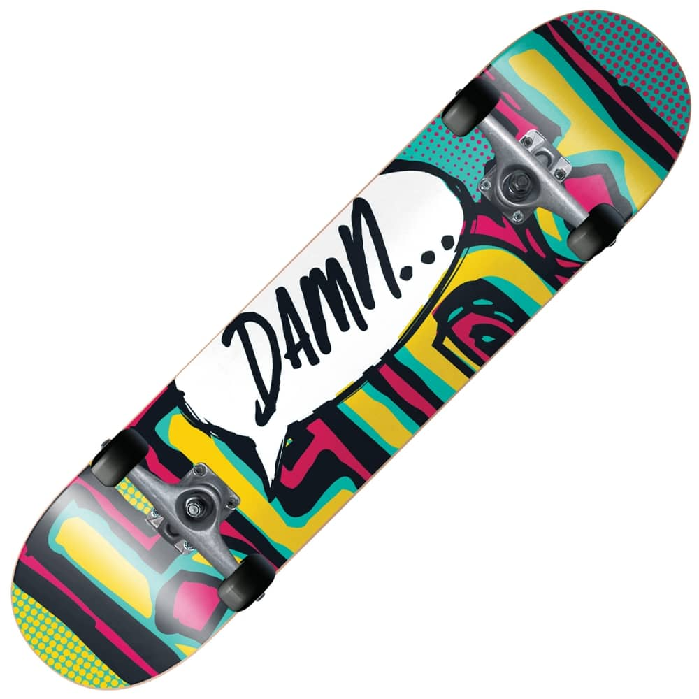 Blind Skateboards Og Damn Bubble Teal Ruby Mini Complete