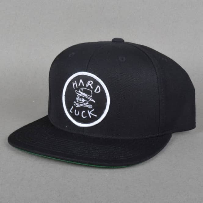 Hard Luck MFG OG Logo Snapback Cap - Black