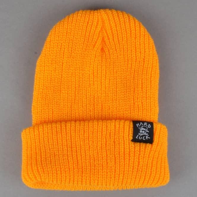 Hard Luck MFG OG Logo Woven Beanie - Gold - SKATE CLOTHING from ... 22b57c375d0