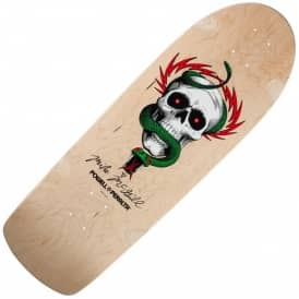 OG McGill Skull And Snake Natural Reissue Skateboard Deck 10.0