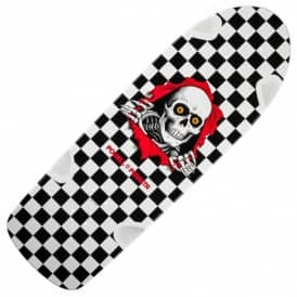 OG Ripper Black/White Checker Reissue Skateboard Deck 10.0