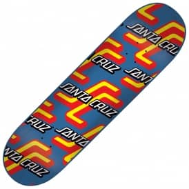 Santa Cruz Skateboards OGSC Pattern Hard Rock Maple Skateboard Deck 8.0""