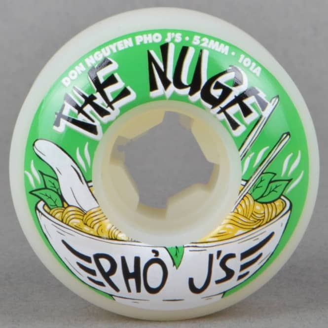 OJ Wheels EZ Edge Nuge Pho Js 101a Skateboard Wheels 52mm