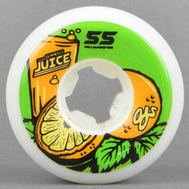 OJs Wheels Juice Hardline 101A Skateboard Wheels 55mm