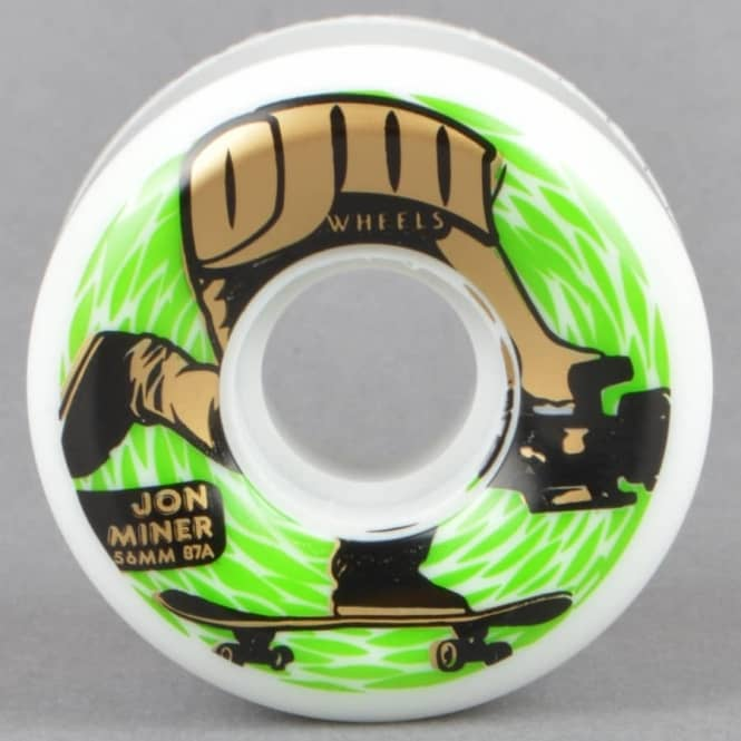 OJs Wheels Miner Keyframe 87A Skateboard Wheels 56mm