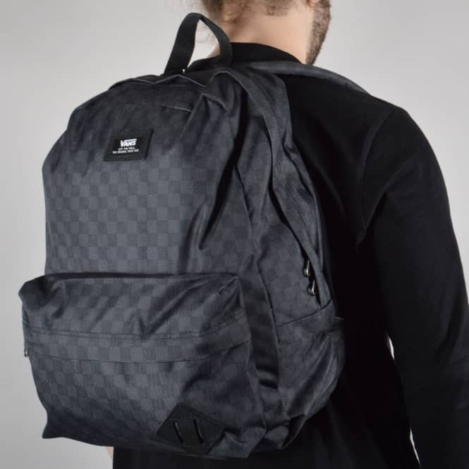 86c2a4f653 Vans Old Skool II Backpack Black/Charcoal (Checkered) - ACCESSORIES ...