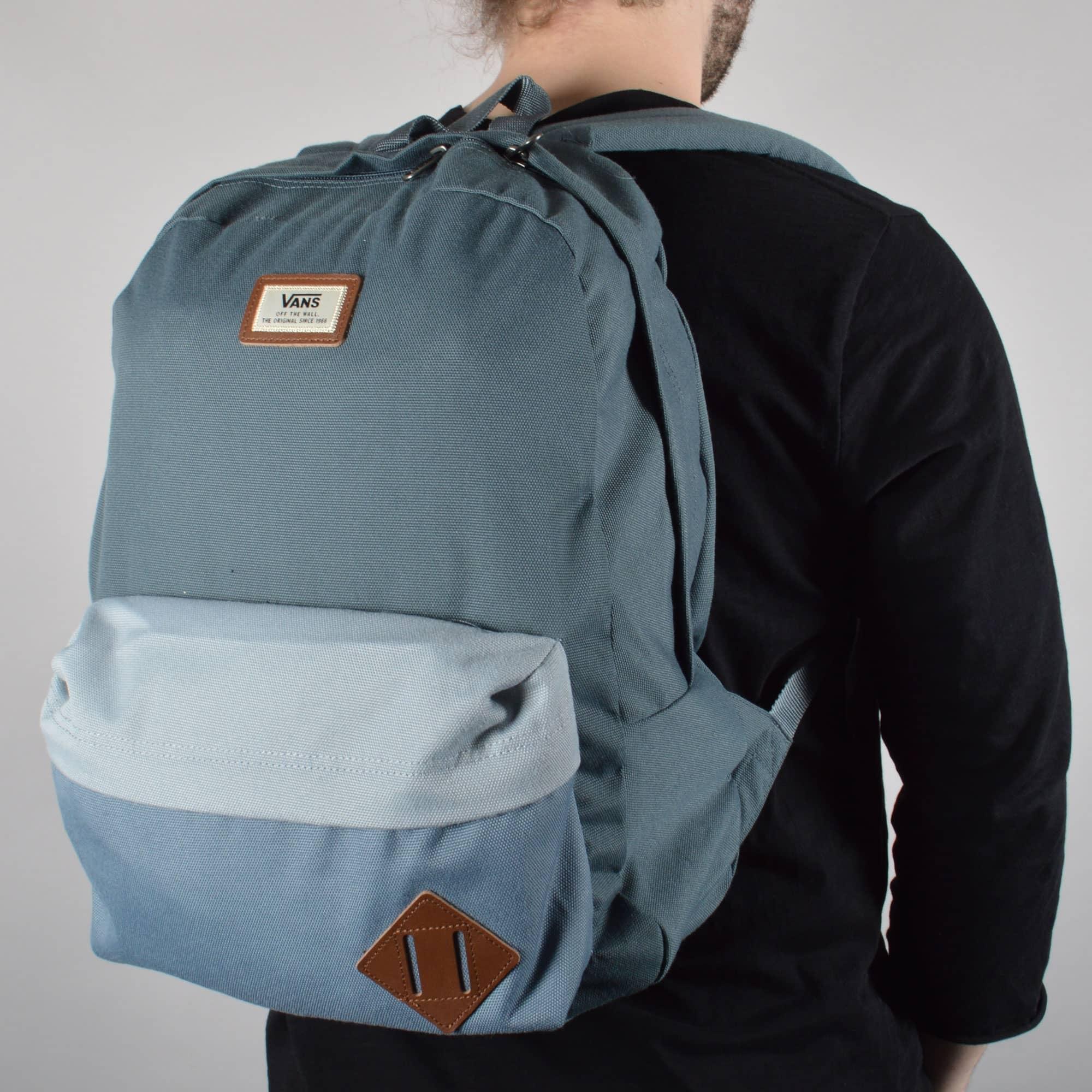 Pescador maorí Islas del pacifico  Vans Old Skool II Backpack - Dark Slate - ACCESSORIES from Native Skate  Store UK