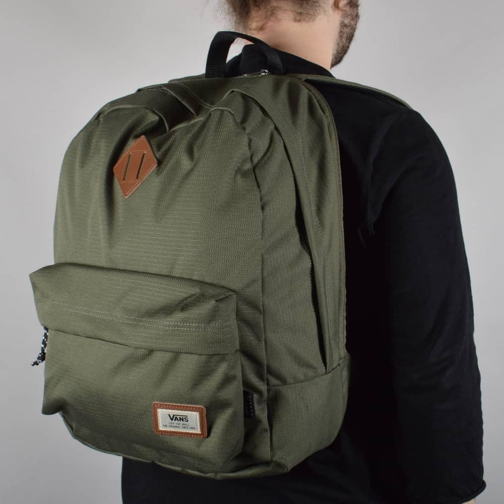 Vans Old Skool Plus Backpack - Grape Leaf - ACCESSORIES