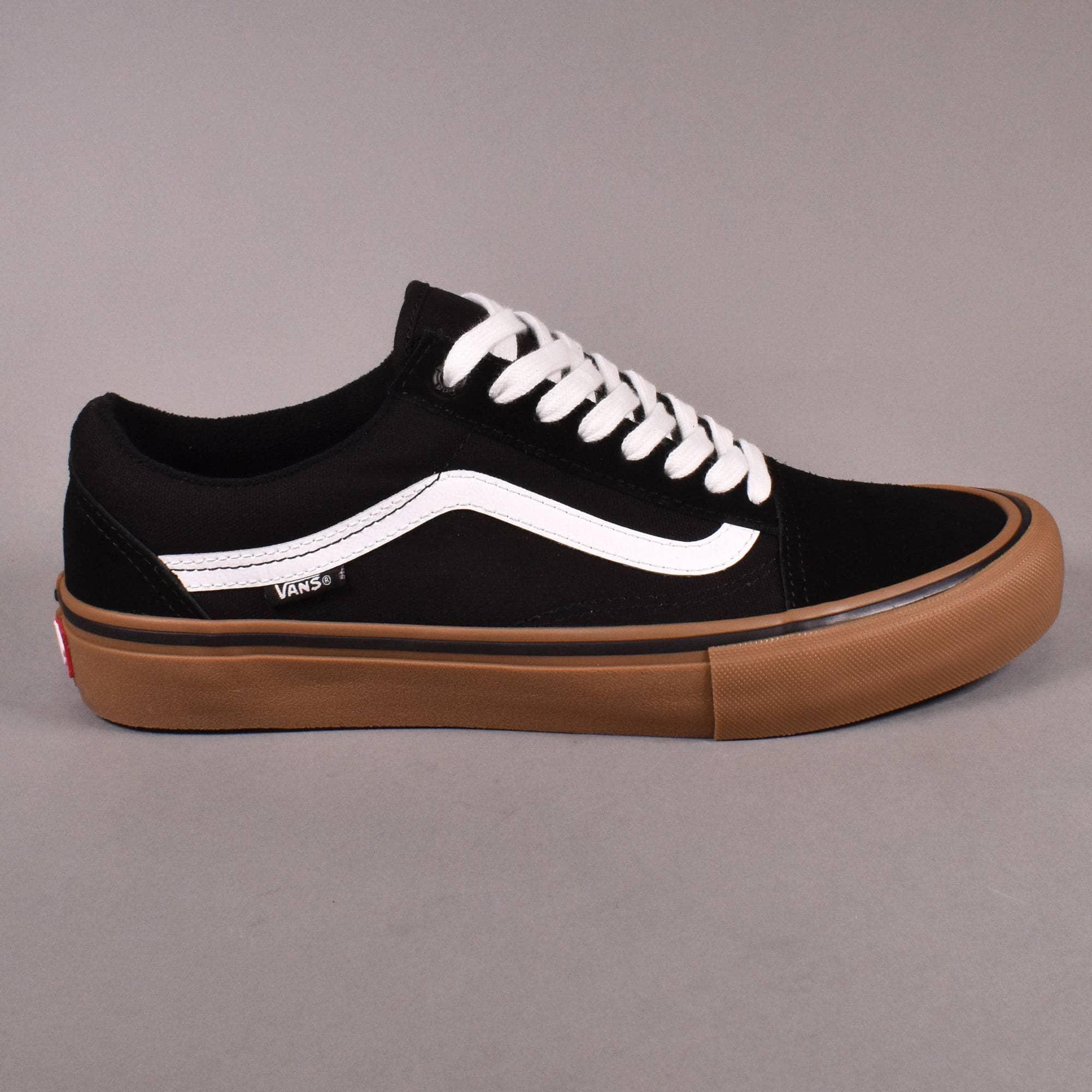 Vans Old Skool Pro Skate Shoes - Black