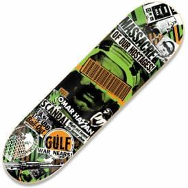 Omar Hassan Bail Out Skateboard Deck 8.38