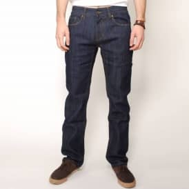 Omit Pitch Jean Slim Fit Stretch Men's Denim Jeans - Dark Indigo
