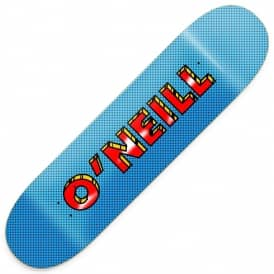 O'Neill Pop Art Skateboard Deck 8.25