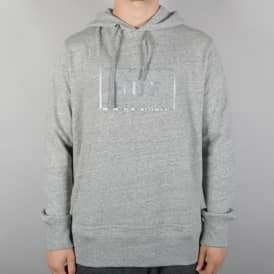 Open Bar Pullover Hoodie - Grey Heather