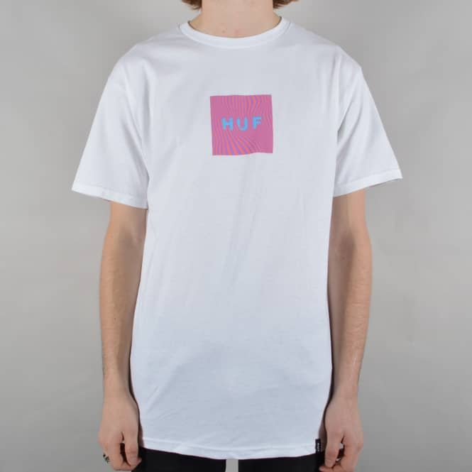 HUF Optical Wave T-Shirt - White