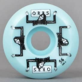 Orbs Fantasmas Blue Side Cut Skateboard Wheels 56mm