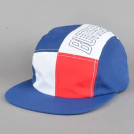 Outline 5 Panel Cap - Blue/Red/White