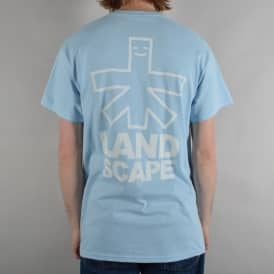 Outline Skate T-Shirt - Light Blue