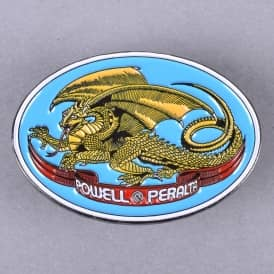 Oval Dragon Lapel Pin - 1.5