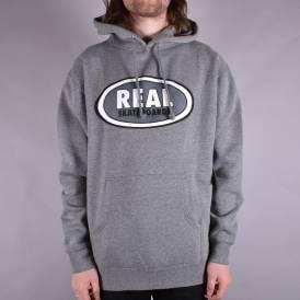 Oval Pullover Hoodie - Gunmetal Heather