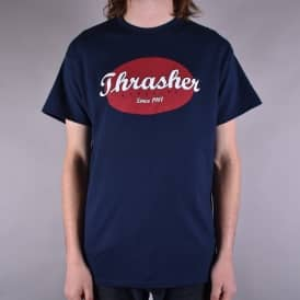 Oval Skate T-Shirt - Navy