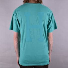 Over Dyed Classic H T-Shirt - Bright Aqua