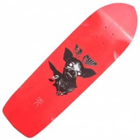 P.P. Cujo Mini Diamondtail Red Skateboard Deck - 8.75