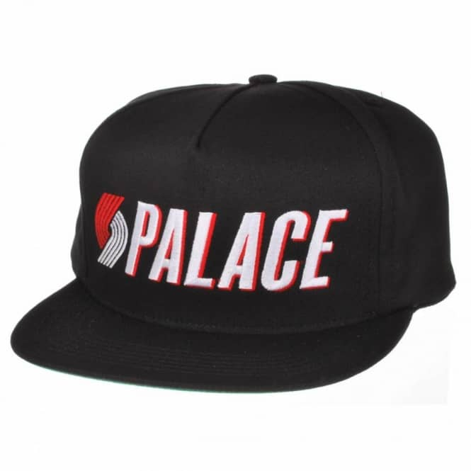 5669fc2c2c8 Palace Skateboards Palace Blazers Snap Back Cap Black - Caps from ...
