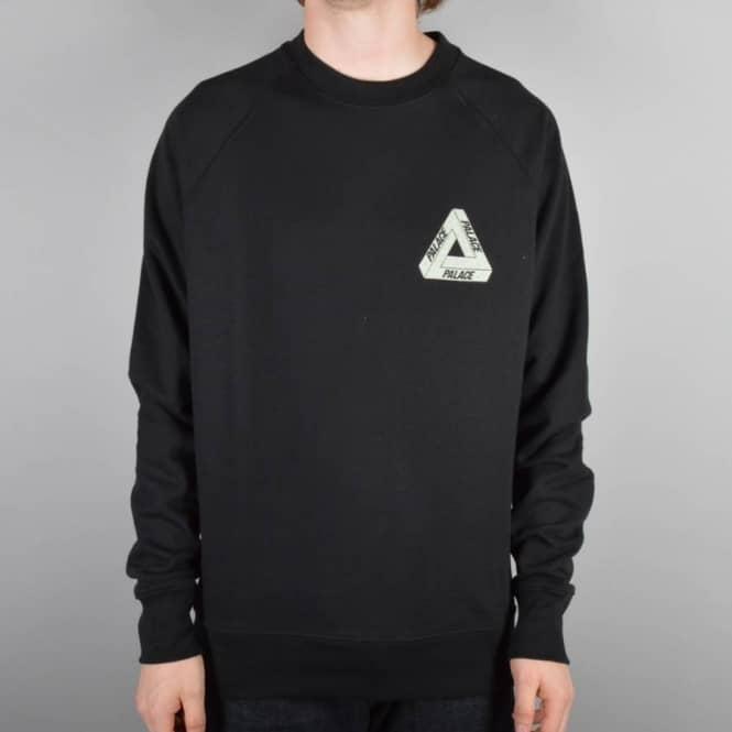 5fc71bb9b56d Palace Skateboards 3M Crewneck Sweater - Black - Sweatshirts   Crews ...
