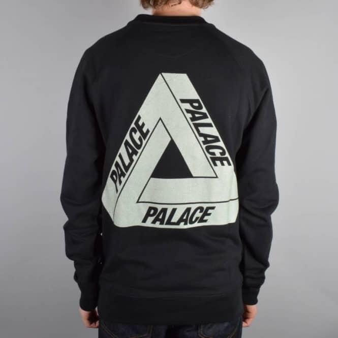 a323ec93949a Palace Skateboards 3M Crewneck Sweater - Black - Sweatshirts   Crews ...