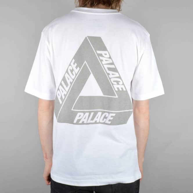 3a4a3f1fcd3d Palace Skateboards 3M Skate T-Shirt - White - Skate T-Shirts from ...