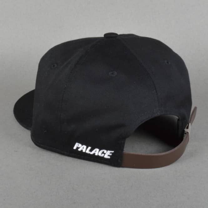 22d8d4bbce9 Palace Skateboards 6 Panel Cap - Black - Caps from Native Skate Store UK