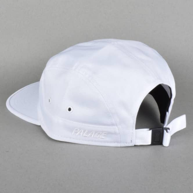 b0a5b3214f7 Palace Skateboards 7 Panel Cap - White - Caps from Native Skate Store UK