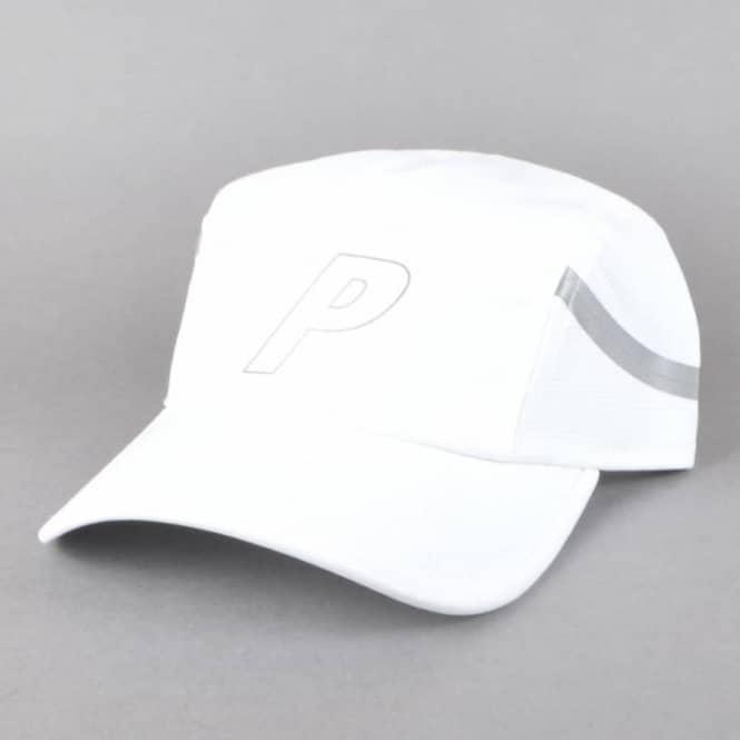 d365249fe7e Palace Skateboards 7 Panel Sport Cap - White - SKATE CLOTHING from ...