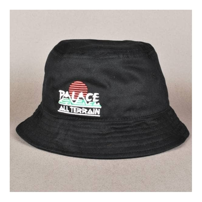 2a36848792c Palace Skateboards Bucket Hat - Black - Bucket Hats from Native ...