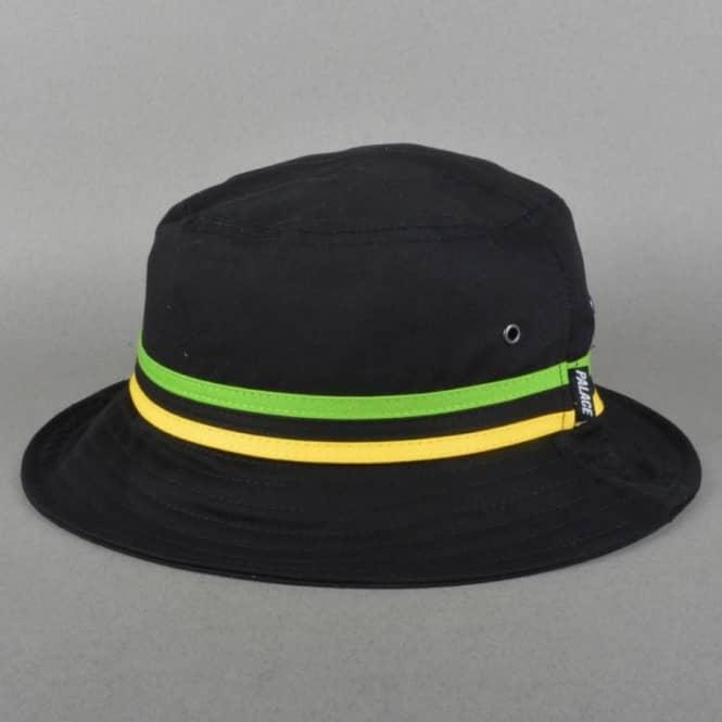 b540dbff8d4 Palace Skateboards Bucket Hat - Black Yard - SKATE CLOTHING from ...