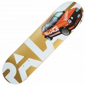 Palace Skateboards GTI Gold Skateboard Deck 8.1""