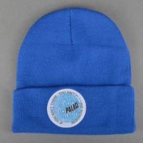 Palace Skateboards If You Ain't There Beanie - Blue