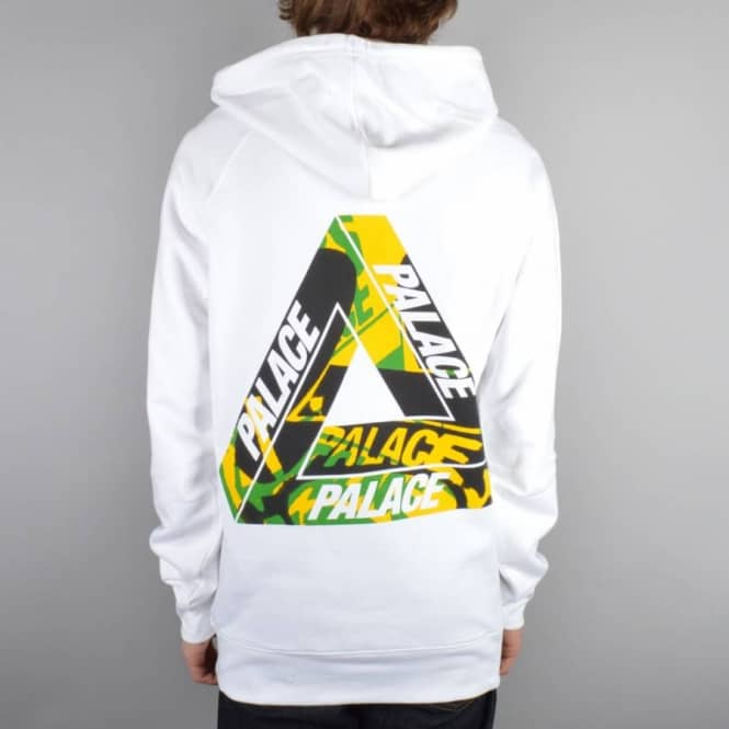 Palace Skateboards One Wave Yard Pullover Hoodie - White - Hooded ... d7d4f3cfe4e4