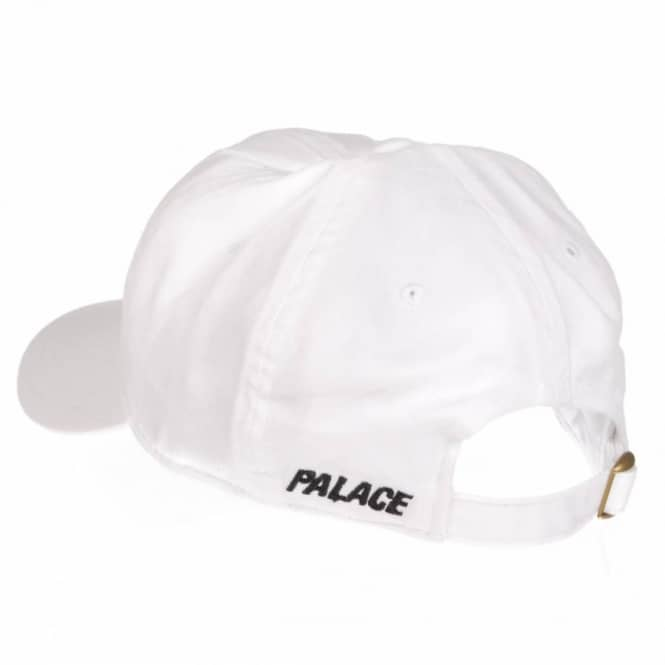 374ee509e18 Palace Skateboards Palace 6 Panel Cap - White - Caps from Native ...