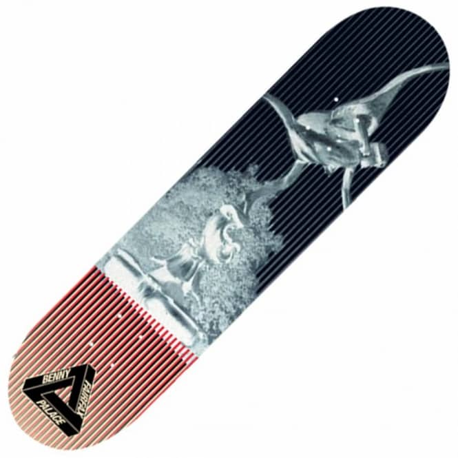 e1baba7d1528 Palace Skateboards Palace Benny Fairfax Statue Black Skateboard Deck ...