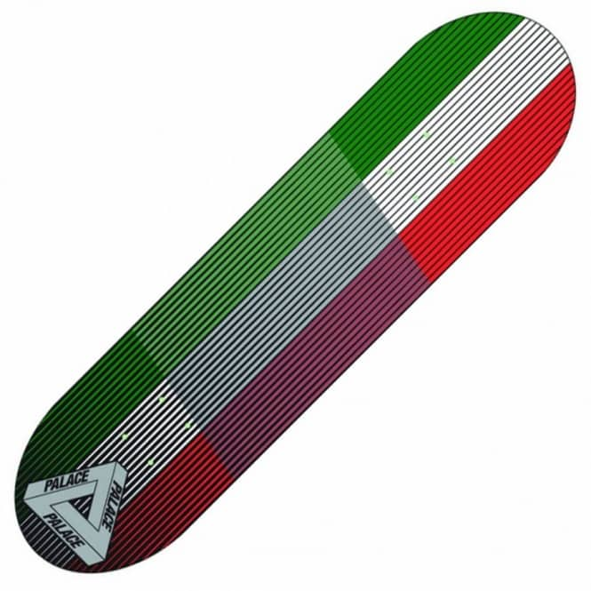 Palace Skateboards Italia Linear Skateboard Deck 8.3