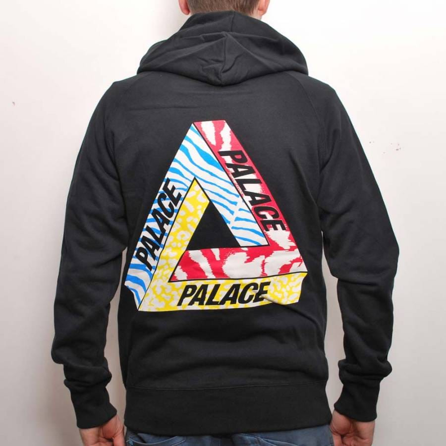 Palace Skateboards Palace Jungle Dream Hooded Top Black