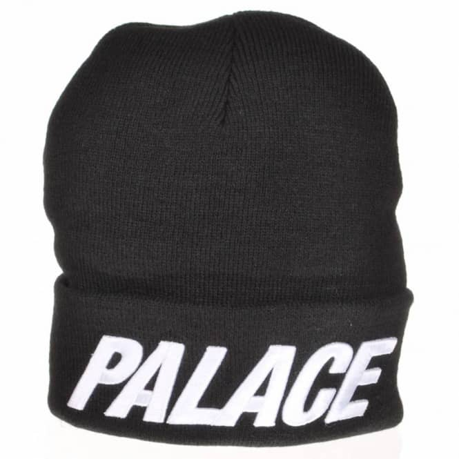 Palace Skateboards Palace Palace Fold Up Beanie - Black - Beanies ... 84a478514769